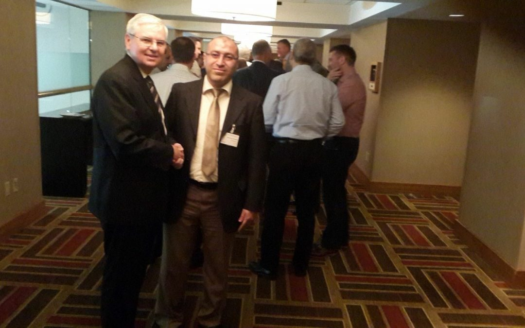 MR. Mohammed Fathalla with Mr. Barry Melancon CPA Chairman