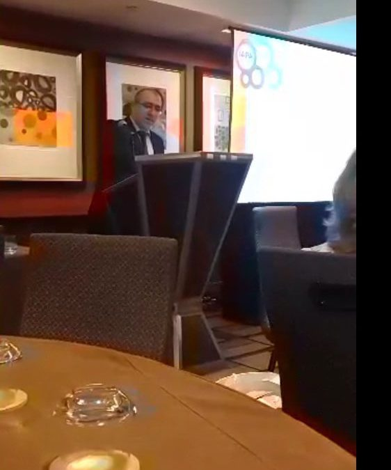 Mr. Mohammed Fathalla speaking at IAPA`s International Conference – New York
